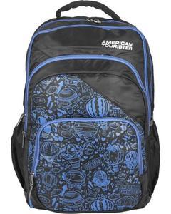 Pack of 2 - At Doodle II Backpack + Pencil Case - Black