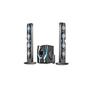 AudionicRB 105 - Reborn Digital Display With Bluetooth Speaker - Black & Blue