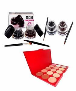 Eyeliner & Ultimate Concealer Palette - Multicolor
