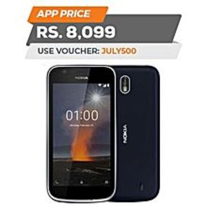 "Nokia1 - 4.5"" - 1GB RAM - 8GB ROM - Blue"