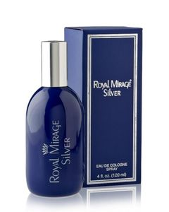 Royal Mirage Silver For Men 120ml - Eau De Cologne - Blue