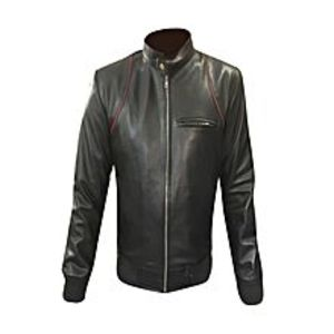 TASHCO ClothingBlack Genuine Leather Jacket High Quality