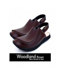 Brown Leather Peshawari Sandal For Men