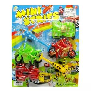 Pack of 6 Pull Back Toys Set for Kids