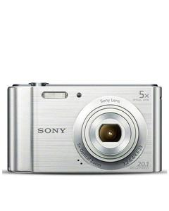 CyberShot - DSC-W800 - 20.1 MP - 5x - Digital Camera - Silver