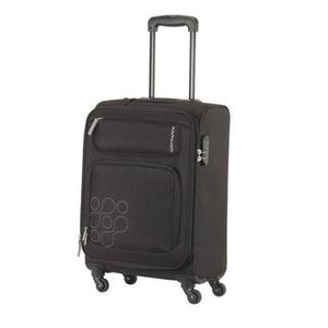 Himba - 69cm Spinner - 4 Wheels Soft Trolley Suitcase- Black