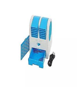 AIR COOLER DOUBLE FAN USB AIR COOLER WITH USB CABLE