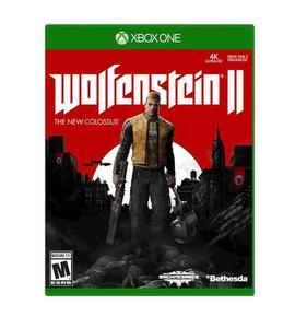 XBOX ONE DVD Wolfenstein II The New Colossus XBOX ONE GAME