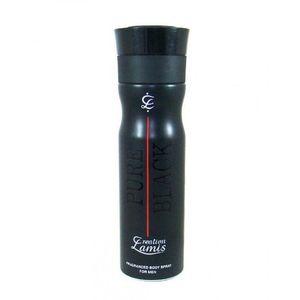 M.A. Perfumes CREATION LAMIS Pure Black Deodorant for Men - 200ml