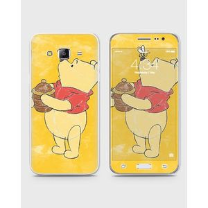 Samsung Galaxy J3 Pro Skin Wrap Front Back & Sides in Poo Style -1wall41