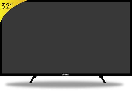 OKTRA HD READY LED TV 32 - BLACK