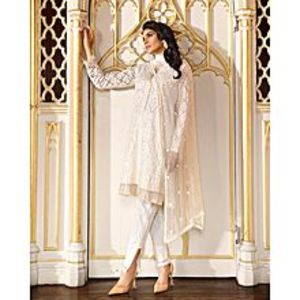 Asim JofaMulticolor Unstitched Luxury Lawn Suit for Women 3 Pcs