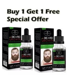 Natural beard oil for mustache growth & hair loss treatment