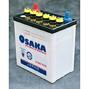 Osaka Batteries MR30 - 12GEN - 5 Plates - Acid Battery - White
