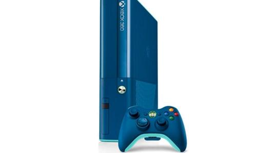 Xbox 360 Ultra Slim Unmodified - Call of Duty Special Edition 2 Original Games - 500 GB - Blue