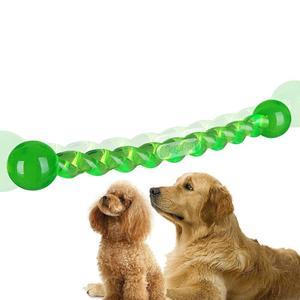 Cool pole dog toy training interactive torsion rod teddy bear teeth grinding teeth # S