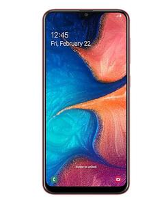 Samsung Galaxy A20 - Display 6.4 - Camera 13+5MP Selfi 8MP - ROM 32GB - RAM 3GB - Face unlock - Finger Print Sensor