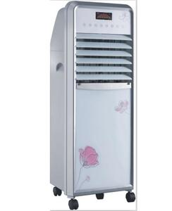 Omega Imported Room Air Cooler - Big Air Throw - white and silver
