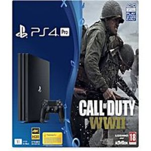 Sony PlayStation 4 Pro 1TB Call Of Duty WWII Bundle