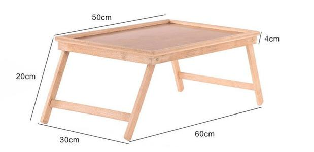 •Foldable Portable Bamboo Laptop Desk Notebook Desk Simple Dining Table For Sofa Bed Laptop Table On The Bed Picnic Tables