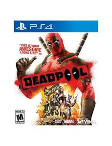 PLAYSTATION 4 DVD DEADPOOL PS4 GAME