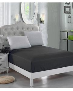 Black Jersey Fit100% Cotton Bed Sheet - Single Bed