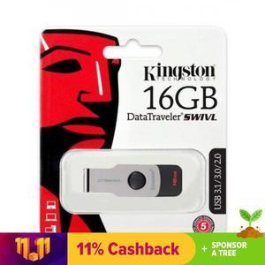 Kingston 16GB USB [100% ORIGINAL]  3.1 Flash Drive DT-50 - Made in Taiwan - 5 YEARS WARRANTY