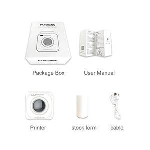 TE Paperang P1 Small Wireless Bluetooth 4.0 Mobile Phone Instant Photo Printer