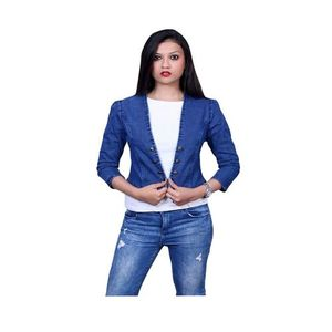 lets New Stylish Fashion Women Denim jecket