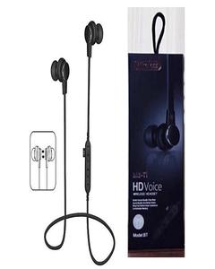 Mst1 Magnetic Bluetooth Handfree With Tf Card Support - Black