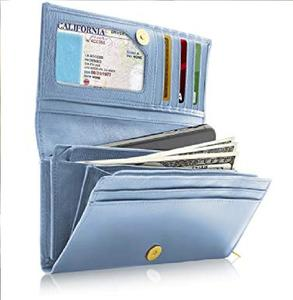 Women Wallets Long Clutch Purse Card Holder Bifold Ladies Wallet