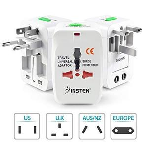All In One Travel Universal Plug Adaptor International AC Power Charger AU US UK Converter Electrical Power Plug