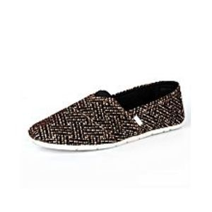 Daraz FashionCasual Brown Slip On Shoes For Men