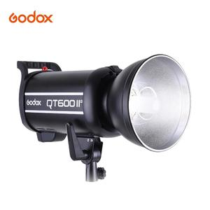 Godox QT600IIM 600WS GN76 Studio Photography Strobe Flash Light Build-in 2.4G Wireless Receiver 1/8000s High Speed Sync with Bowens Mount
