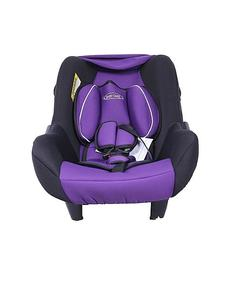 Baby Carry Cot With Double Cushion - Purple