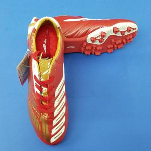 XPD Football Shoes For Men  - Maroon/Golden - Strong Football Shoes For Men