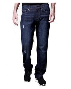 Regular Ripped Jeans - Blue