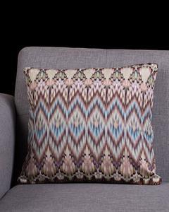 Multi Color Cotton Canvas Caressa Cushion Cover