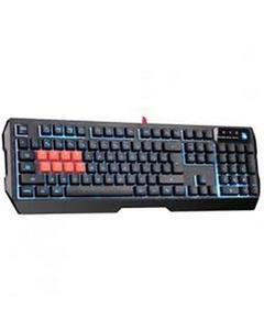B188 8-Key Light Strike (LK) Optical Mechanical Gaming Keyboard – Tri-Color LED Backlit