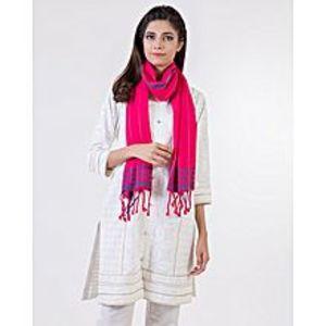 Bonanza SatrangiPink Cotton Ladies Dupatta