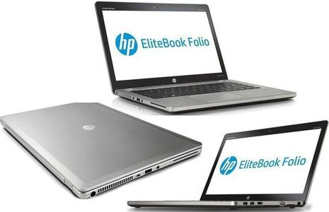 "HP EliteBook Folio 9470m Ultrabook - 14"" HD - Core i5-3427U 3rd Gen. -4GB Ram 320GB HDD - Silver (REFURBISHED)"