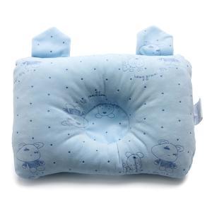 Newborn Baby Cot Pillow Children Flat Head Support Bed Sleep Cushion Positioner 16x26cm