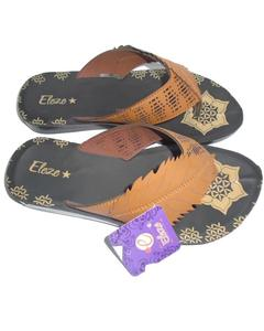Brown & Black Synthetic Casual Slipper for Women