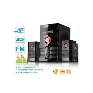 2.1 Channel Subwoofer HD Speaker SHT-1134BT - 8000W - Bluetooth Enabled - Disk Playback - Black