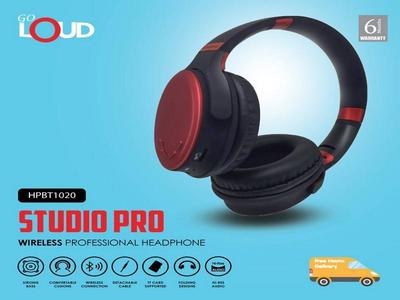 Go Loud Studio pro Wireless professional Headphone HPBT1020 with 6 Month Official Warranty