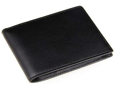 Black artificial leather Wallet