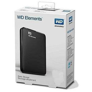 WD-Element 1000GB 1TB External Hard Disk Drive Portable