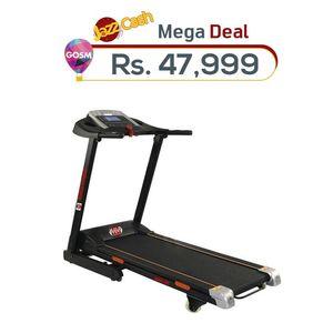 MM Force MM-00 - Motorized Treadmill (3.0 HP) - Black