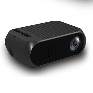 Estima Mini Projector Home Theater Cinema TV Portable LED Projector 1080P HDMI/USB/SD/AV Projector Black