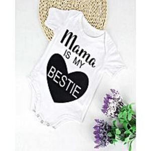 Mumzloves Baby Ball Unisex Baby Bodysuits Newborn Letter Printed Baby Boy Girl Jumpsuit Bodysuit Infantil Clothes Outfit